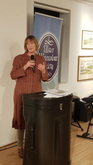 The exhibition was opened by Amanda Croft